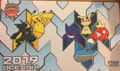 Pokemon Play Mat - Staff 2019 Oceania
