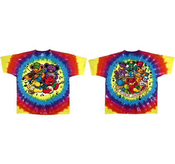 Grateful Dead Jug Band Tie Dye