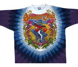 Grateful Dead Terrapin Moon Tie Dye Long Sleeves