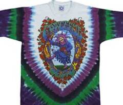Grateful Dead Seasons of the Dead Tie Dye Long Sleeves