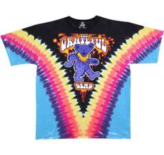 Grateful Dead Liquid Bear V Tie Dye