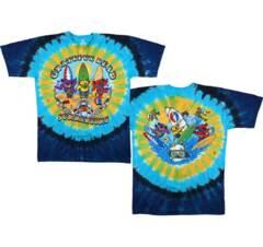 Grateful Dead Beach Bear Bingo Tie Dye