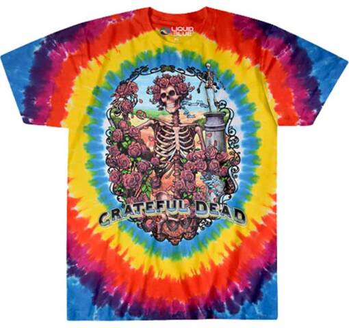 Grateful Dead Rainbow Bertha Tie Dye