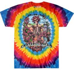 Grateful Dead Rainbow Bertha Tie Dye