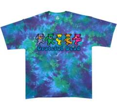 Grateful Dead Dancing Bear Tie Dye