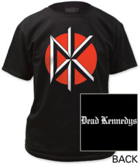 Dead Kennedys DK with Back
