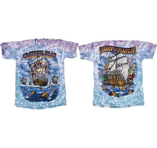 Grateful Dead Ship of Fools Tie Dye