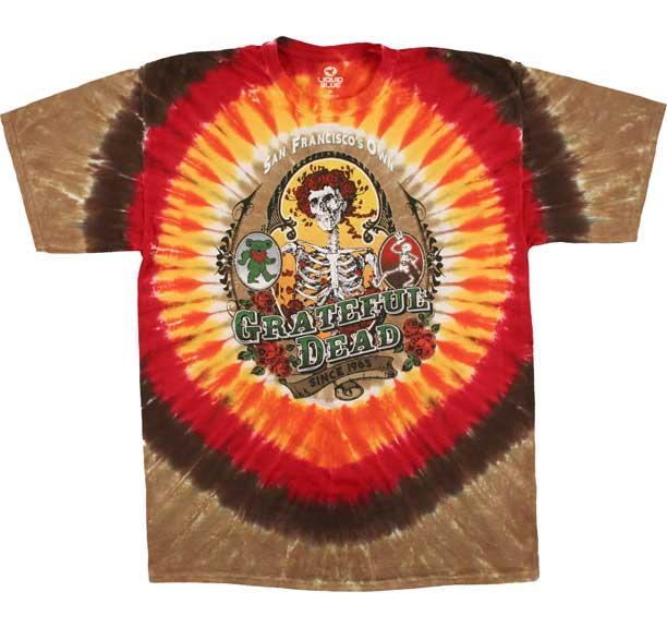 Grateful Dead Bay Area Beloved Tie Dye