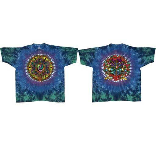 Grateful Dead Celtic Mandala Tie Dye Long Sleeves