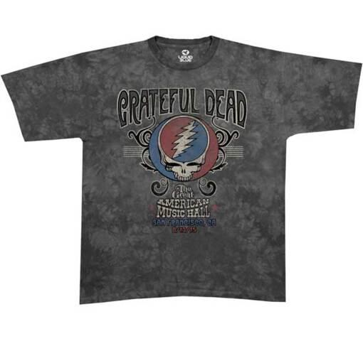 Grateful Dead American Music Hall Tie Dye