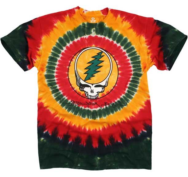 Grateful Dead Rasta SYF Tie Dye