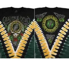 Grateful Dead Shamrock Tie Dye Long Sleeves