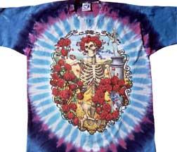 Grateful Dead 30th Anniversary Tie Dye Long Sleeves