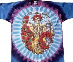 Grateful Dead 30th Anniversary Tie Dye Long Sleeves