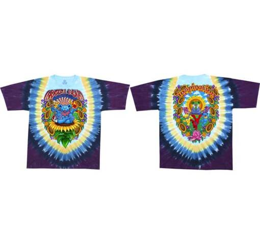 Grateful Dead Guru Bear Tie Dye