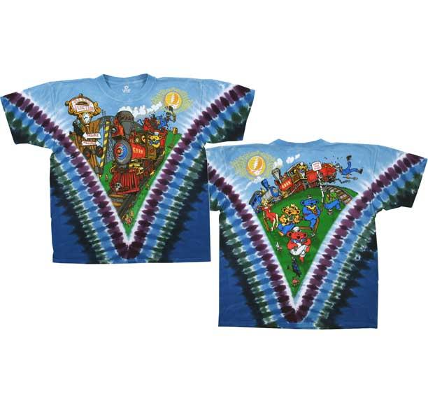 Grateful Dead Casey Jones Tie Dye