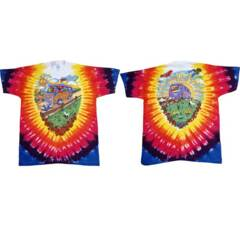 Grateful Dead Summer Tour Bus Tie Dye