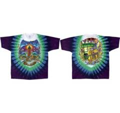 Grateful Dead Watchtower Tie Dye