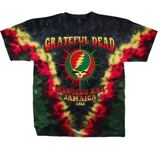 Grateful Dead Montego Bay Tie Dye