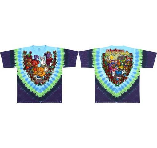 Grateful Dead Wonderland Jamband Tie Dye