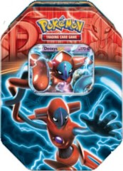 Pokemon EX 2013 Fall Collector's Tin Team Plasma - Deoxys