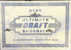 2020 Leaf Ultimate Draft Baseball Box