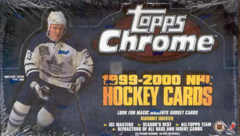 1999-00 Topps Chrome NHL Hockey Hobby Box