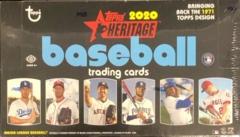 2020 Topps Heritage MLB Baseball Hobby box
