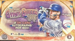 2021 Topps Gypsy Queen MLB Baseball Hobby Box