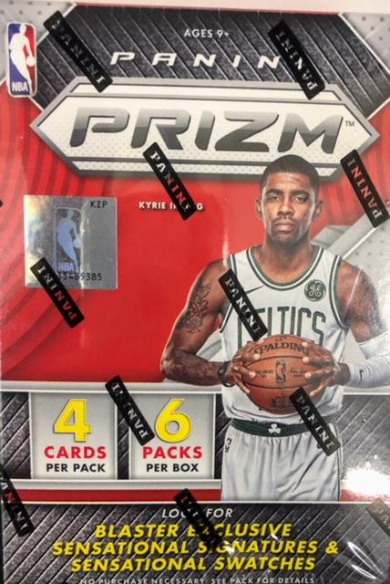 2017-18 Panini Prizm NBA Basketball Blaster Box