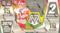 2020 Panini Mosaic NFL Football Hobby Box