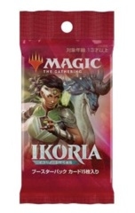 Magic the Gathering Ikoria: Lair of Behemoths Booster Pack - Japanese