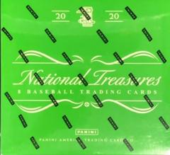 2020 Panini National Treasures Baseball Hobby Box