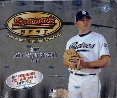 2004 Bowmans Best MLB Baseball Hobby box