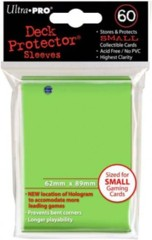 Ultra Pro Deck Protector Sleeves - Small - 60 count - Lime Green