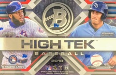 2018 Bowman High Tek MLB Baseball Hobby Box