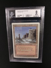 Plateau BGS 8 NM-MT 3rd Edition / Revised MTG Magic Graded Card