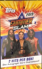 2019 Topps WWE SummerSlam Trading Cards Hobby Box