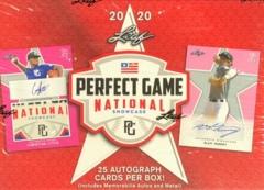 2020 Leaf Perfect Game National Showcase Hobby Box