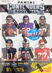 2017 Panini Contenders NFL Football Blaster Box