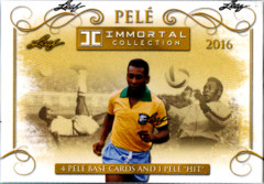 2016 Leaf Pele Immortal Collection Hobby Box
