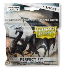 Dragon Shield Perfect Fit SIDE LOAD (100ct) - Smoke