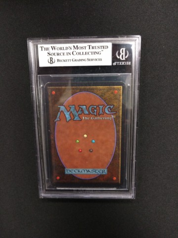 Crusade BGS 8 NM-MT Alpha MTG Magic Graded Card