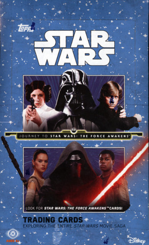 2015 Topps Journey to Star Wars: The Force Awakens Trading Cards Hobby Box