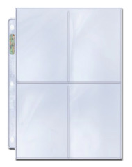Ultra Pro 4-pocket Platinum Series 3 1/2