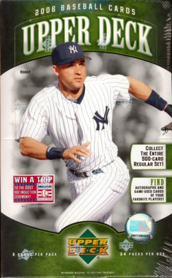 2006 Upper Deck Series 1 MLB Baseball Hobby Box