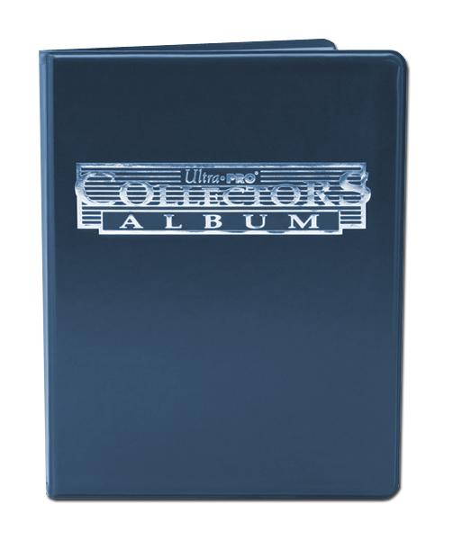 Ultra Pro 4-pocket Collectors Portfolio (10 pages) Blue