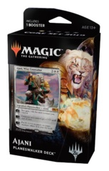 Magic 2019 (M19) Core Set Planeswalker Deck (Intro Pack): Ajani, Wise Counselor