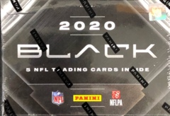 2020 Panini Black NFL Football Hobby Box