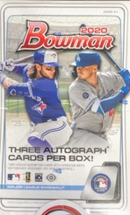 2020 Bowman MLB Baseball Jumbo Box